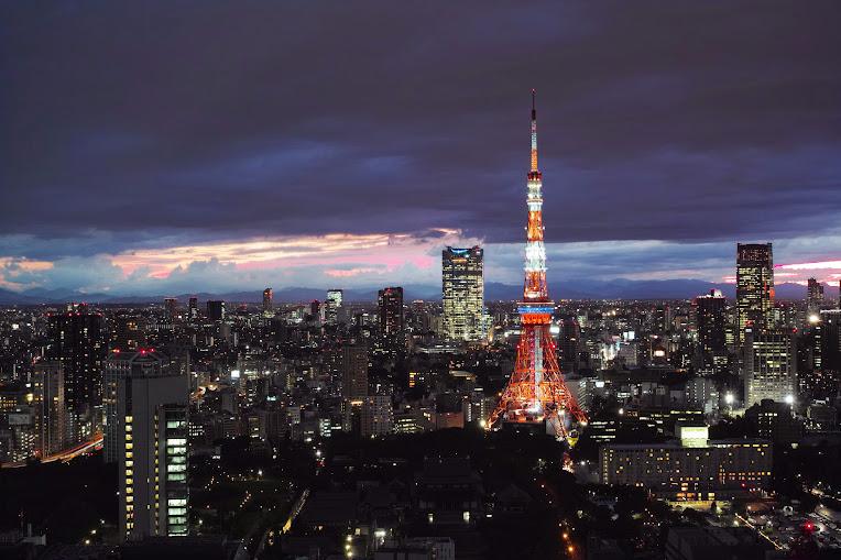 tháp truyền hình tokyo nhật bản