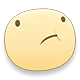 Disappointed Facebook sticker