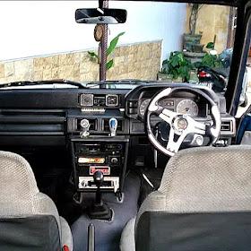 Modifikasi Interior Daihatsu Taruna
