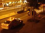 Route des Acacias: Bande d'arrêt d'urgence. Heu, piste cyclable.