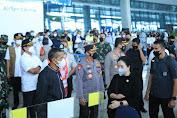 Kapolri Tinjau Arus Mudik di Bandara Soetta dan Minta Perketat Pengawasan Warga dari Luar Negeri