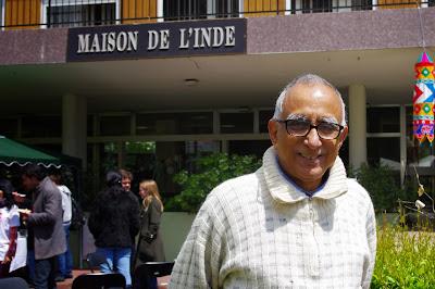 Le directeur de la Maison de l'Inde : Bikas C.SANYAL