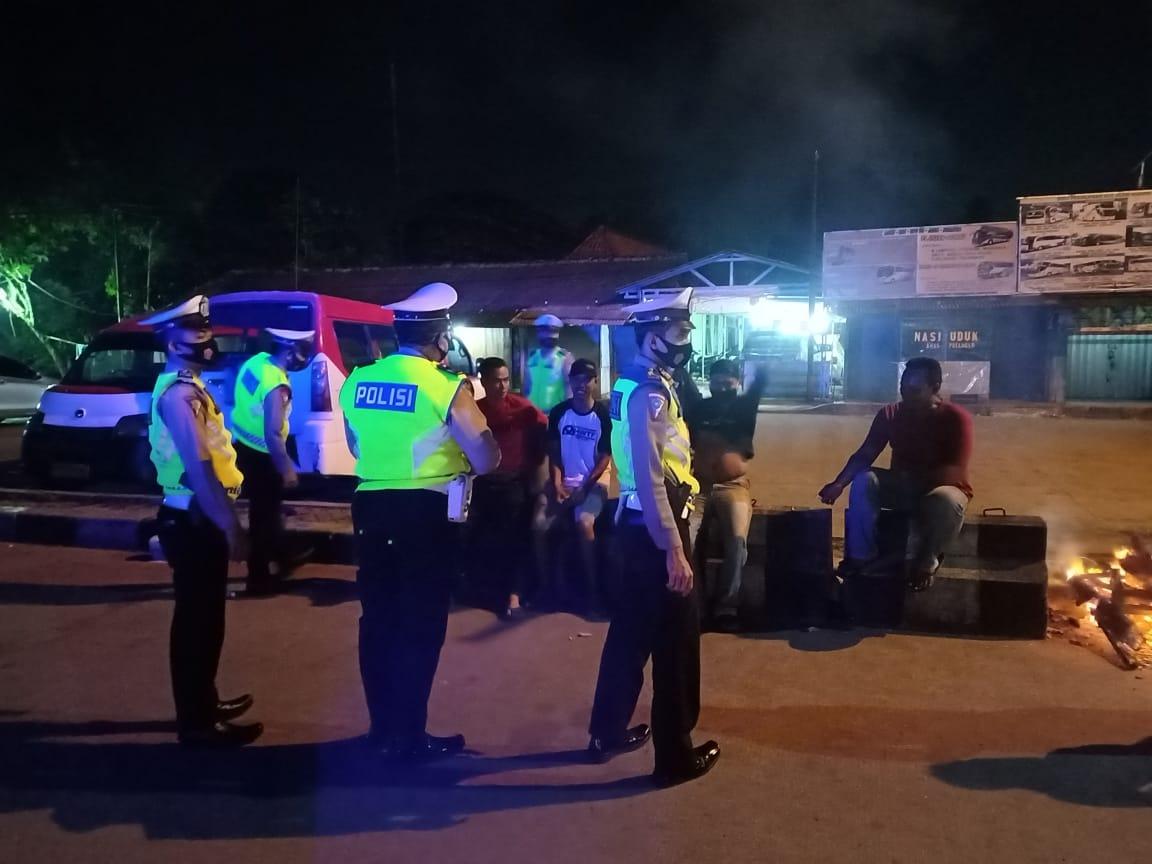 Upaya Ditlantas Polda Banten Pantau Penerapan Protokol Kesehatan di Ruang Publik