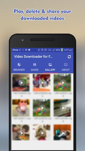 Video Downloader For Facebook -HD Video Downloader 1.0.3 screenshots 8