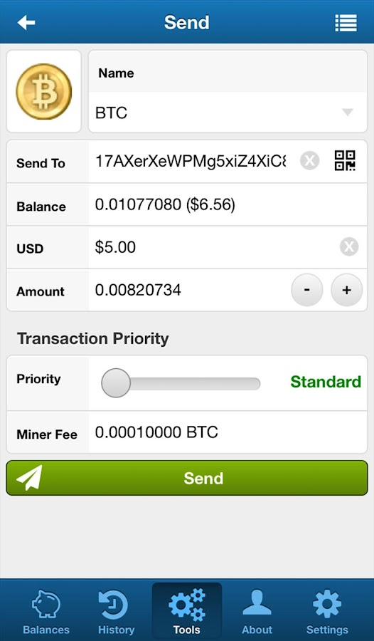 FreeWallet- screenshot