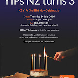 YIPs Auckland Celebrate Our Third Birthday