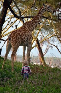 Jij bent groot en ik ben klein..