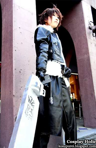 final fantasy viii cosplay - squall leonhart by ryuura