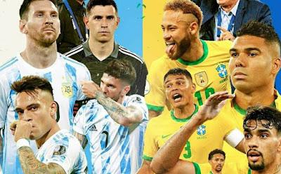 Finale de la Copa America: Argentine vs Brésil en direct sur les chaines suivantes