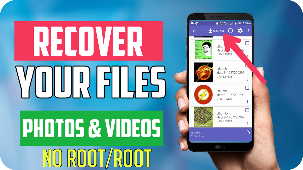 DiskDigger Pro [Recover Your Deleted Photos/Videos] - RSingh4U