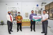 Bank Aceh Syariah Serahkan Satu Unit Tangki Olahan Hand Sanitizer ke Atsiri Research Centre (ARC) Unsyiah
