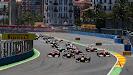 Start 2011 European F1 GP