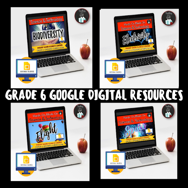GRADE 6 ONTARIO SCIENCE DIGITAL RESOURCES