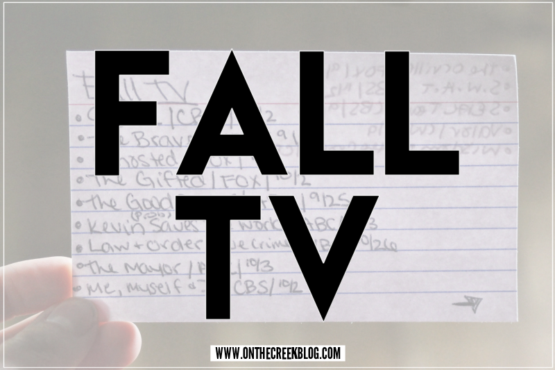 Fall TV | Premieres & Returning Shows