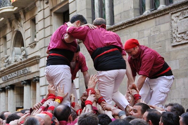 19è Aniversari Castellers de Lleida. Paeria . 5-04-14 - IMG_9514.JPG