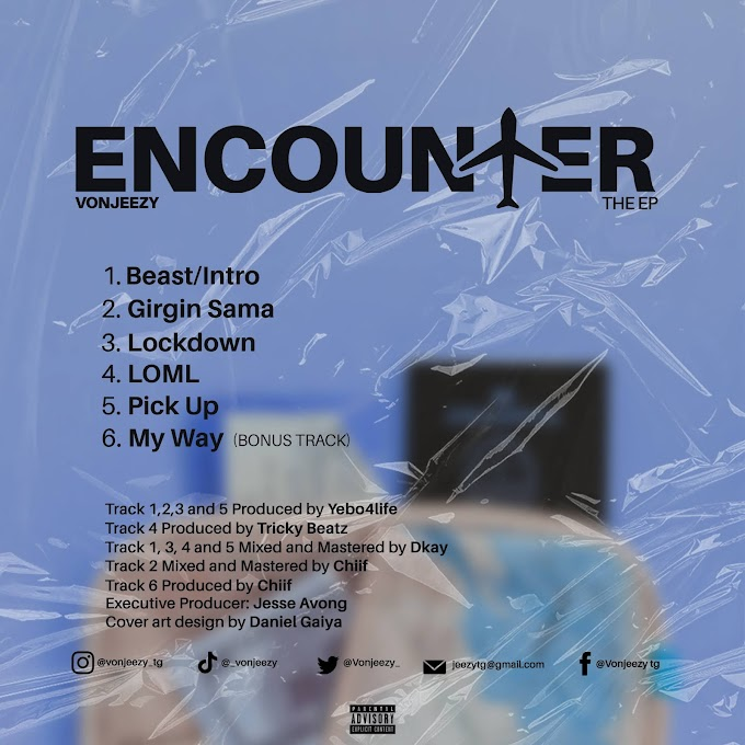 """Nigerian Artist """"Vonjeezy"""" Unveils Official Tracklist/Release Date For New EP Titled """"Encounter"""""""