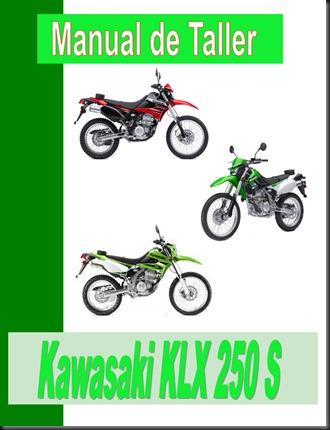 manual taller klx 250 s
