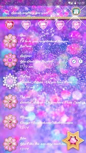 (FREE) GO SMS DREAM STARLIGHT THEME- screenshot thumbnail