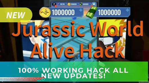 jurassic world alive hack ios apk