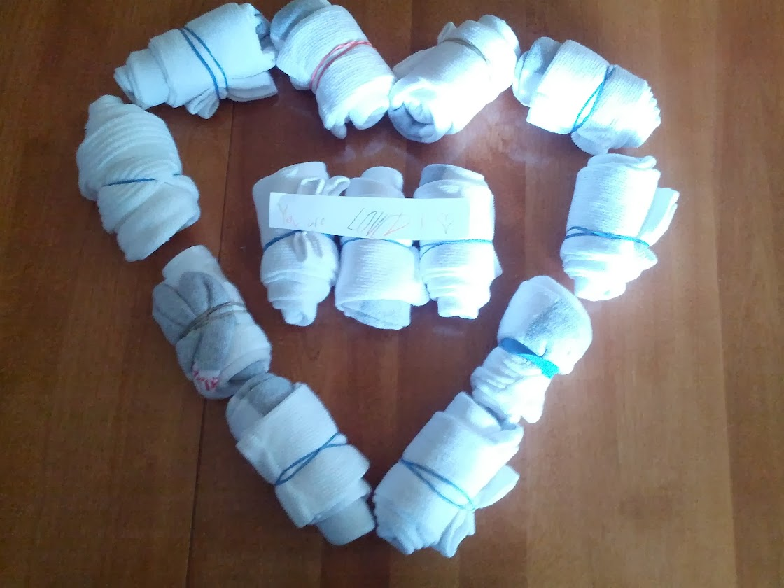 Heart of socks