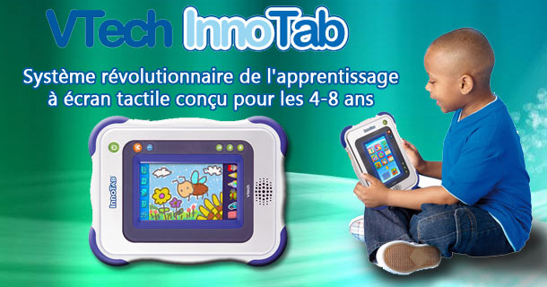 jouet ecran tactile enfants vtech innotab