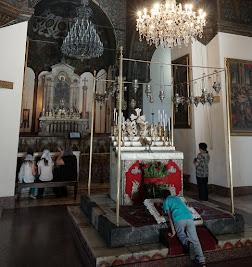 In der Kathedrale von Etschmiadsin