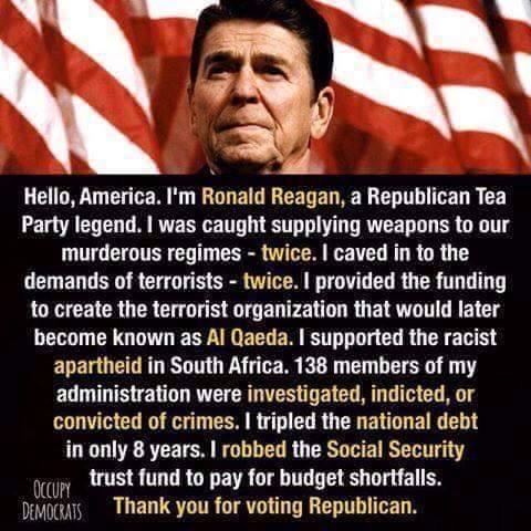 Reagan Was A Bloodsucker