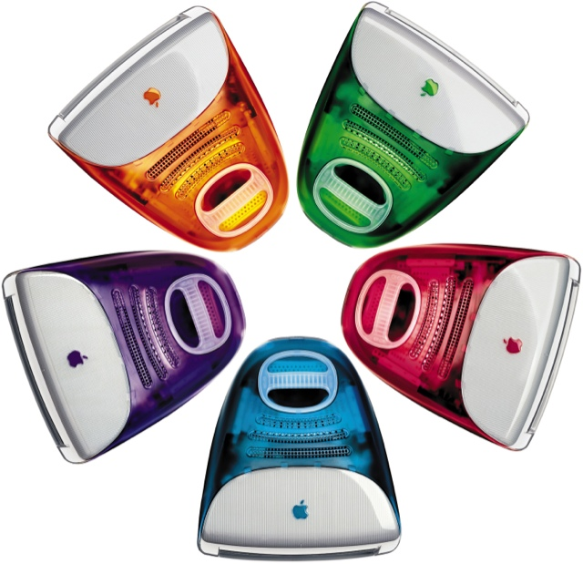 iMacs coloridos