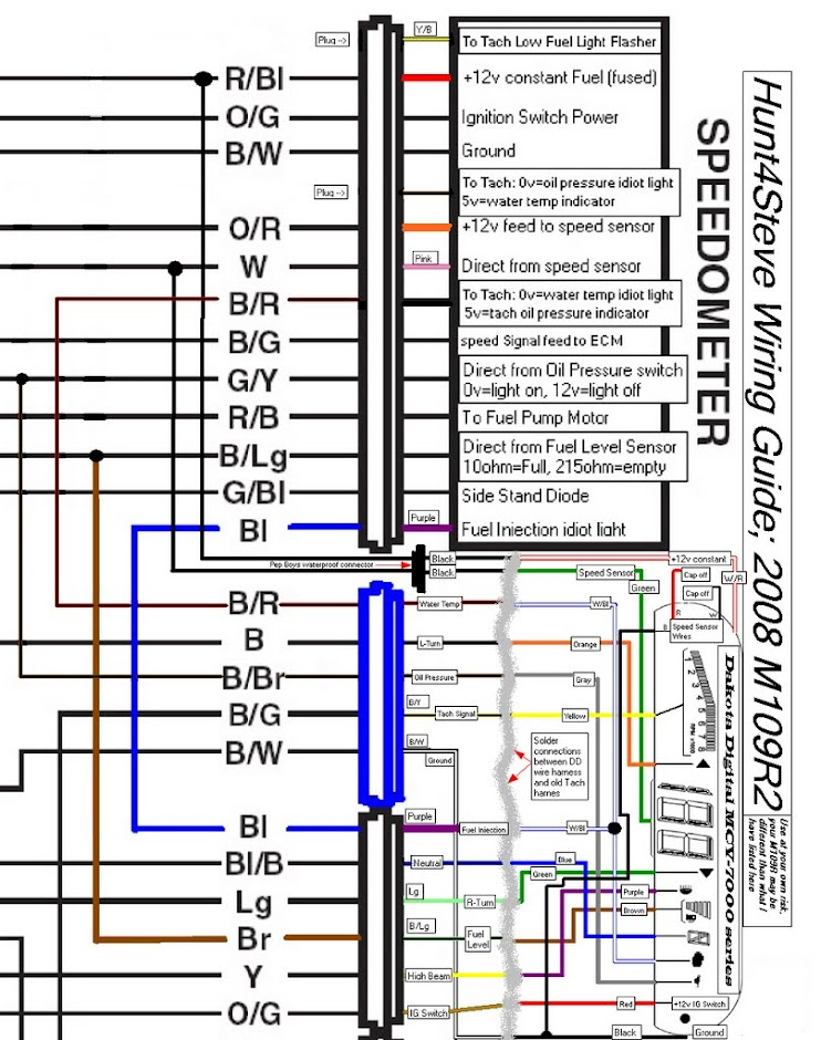 Tach_Speedo_Wiring yamaha boat tachometer wire diagram yamaha schematics and wiring yamaha outboard tachometer wiring diagram at aneh.co