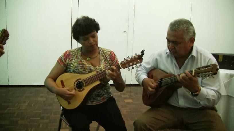 Sesión de trabajo con Ismael Querales, Moisés Torrealba y Angela Jones