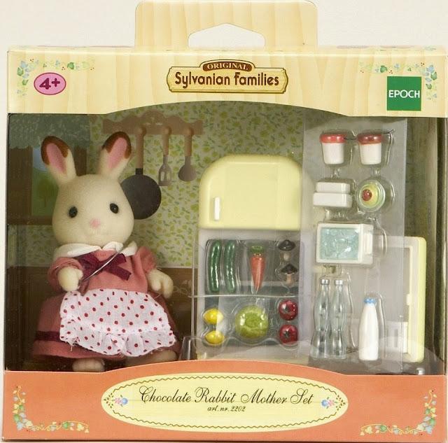Bao bì sản phẩm Thỏ nâu mẹ và tủ lạnh