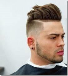 Criztofferson cool undercut hairstyle for men