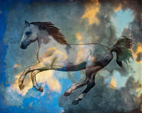 """The """"Pegasus in Flight"""" piece from the """"2015"""" collection"""