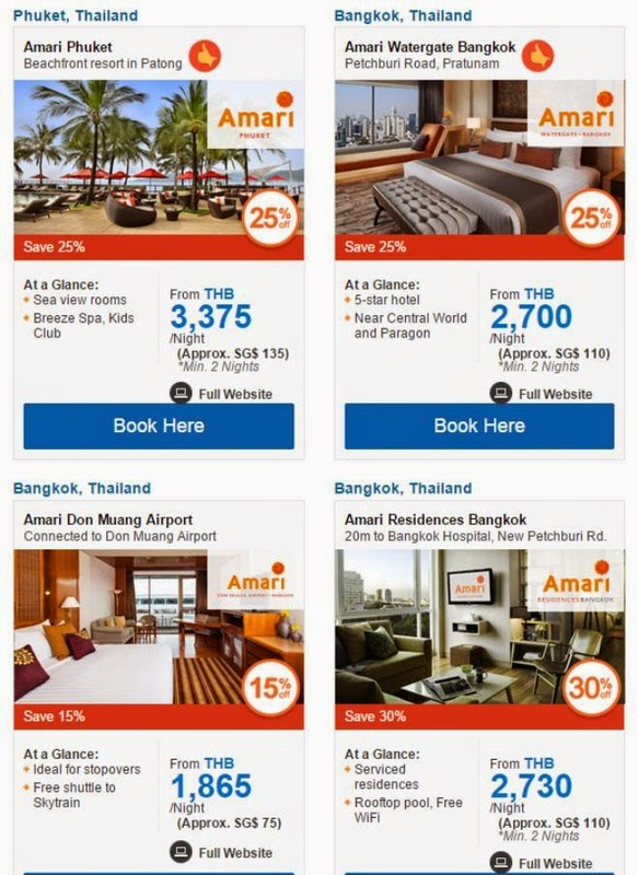 Amari hotels promo