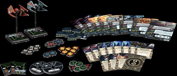 Contenido de los Ases Imperiales X-Wing