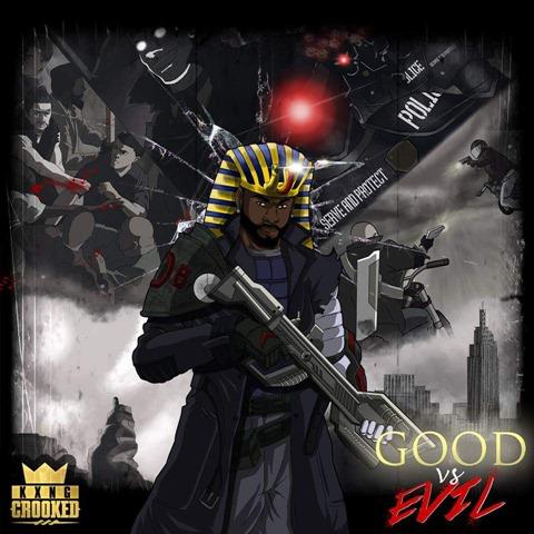 KXNG Crooked Good Vs Evil Artwork