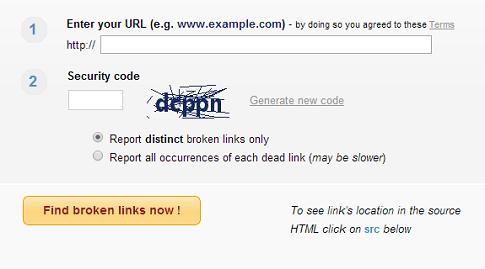 Detectar los enlaces rotos de tu sitio