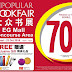 23 Sept to 23 Oct 2016 Popular Book Fair @ Kuching