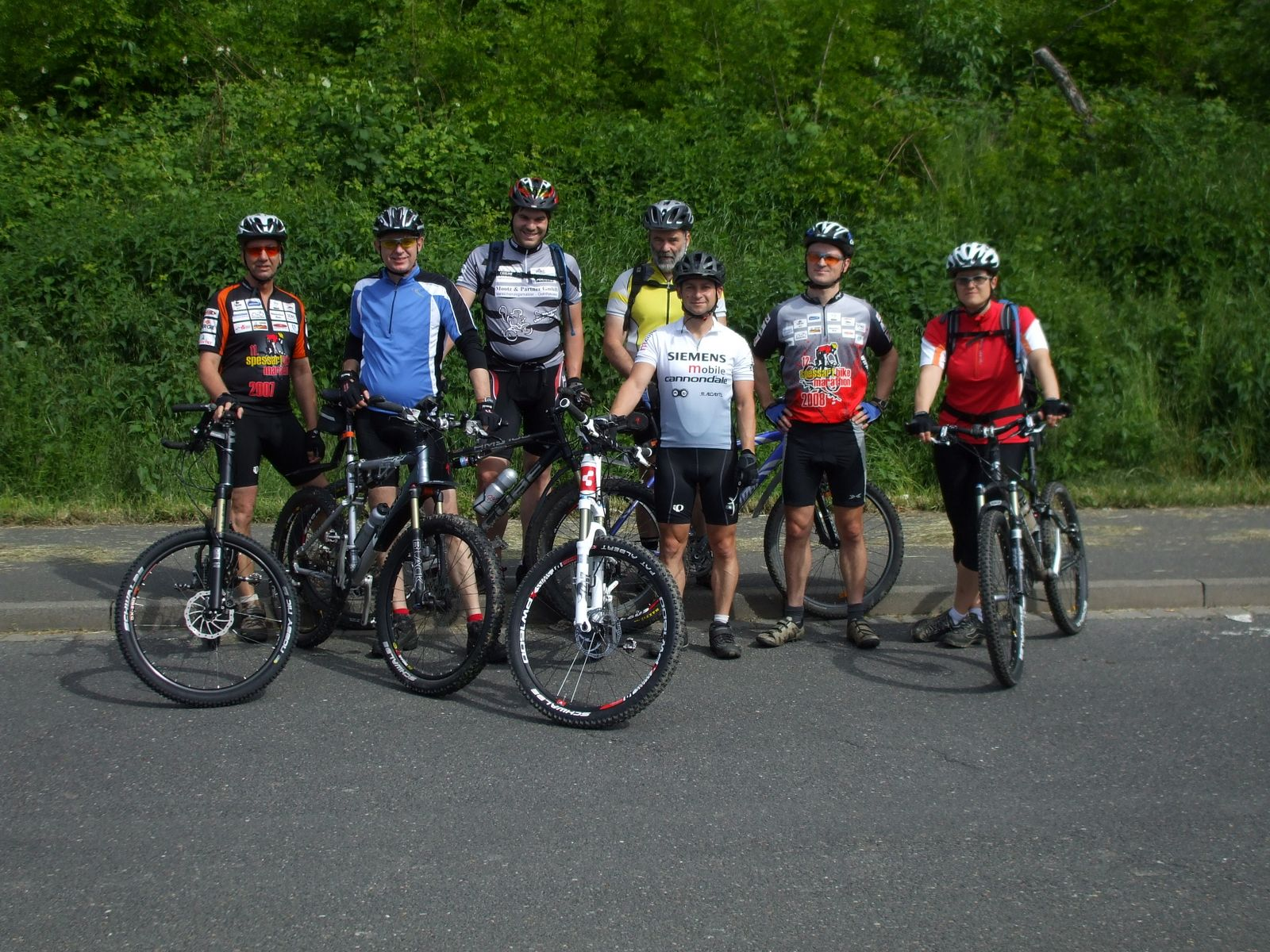 Spessart-Biker Tour am 17.05.2009