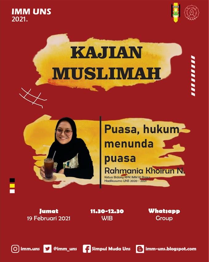 Kajian Muslimah #3