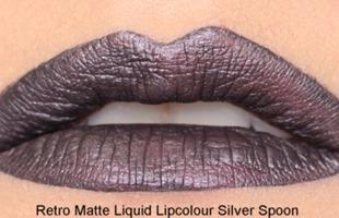 SilverSpoonRetroMatteLiquidLipcolourMAC17