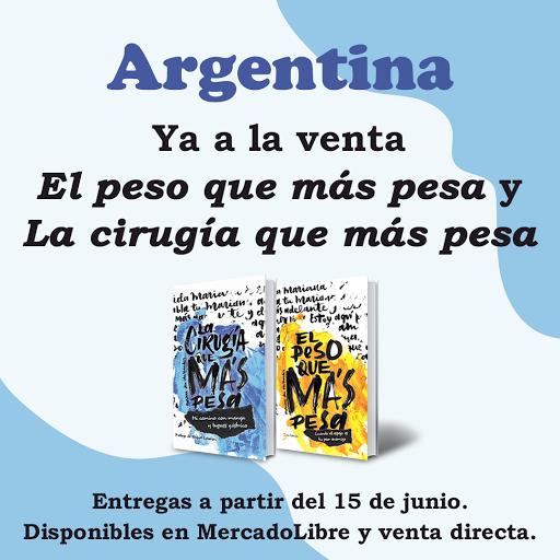 ¡Mis libros en Argentina!