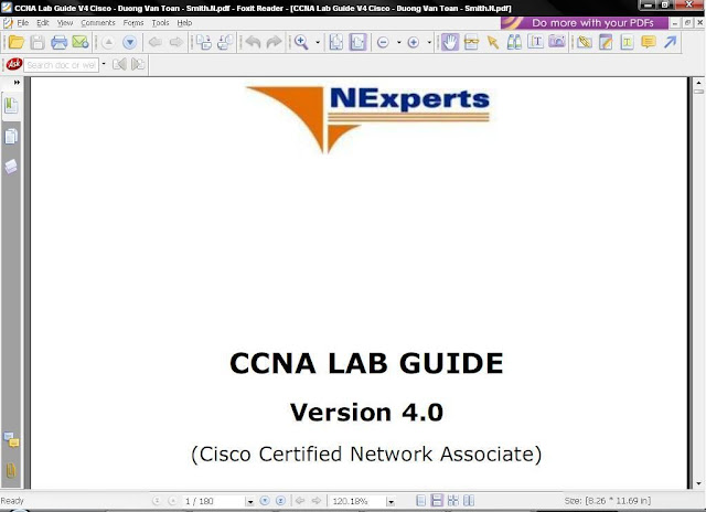 CCNA LAB GUIDE VERSION 4.0