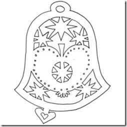 vytynanki campanas de navidad (17)