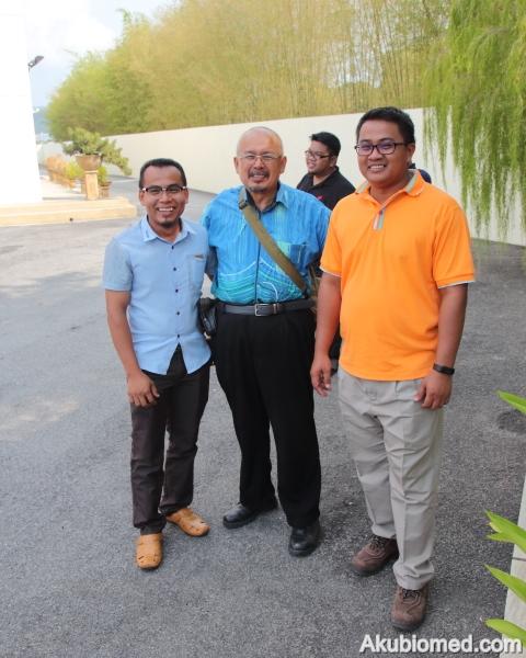 Berkenalan rakan baru dari negeri berbeza pasangan adik beradik Azrul Hassan, Azman Hassan dan abang Hassan Mat.