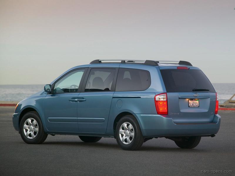 2007 kia sedona minivan specifications pictures prices. Black Bedroom Furniture Sets. Home Design Ideas