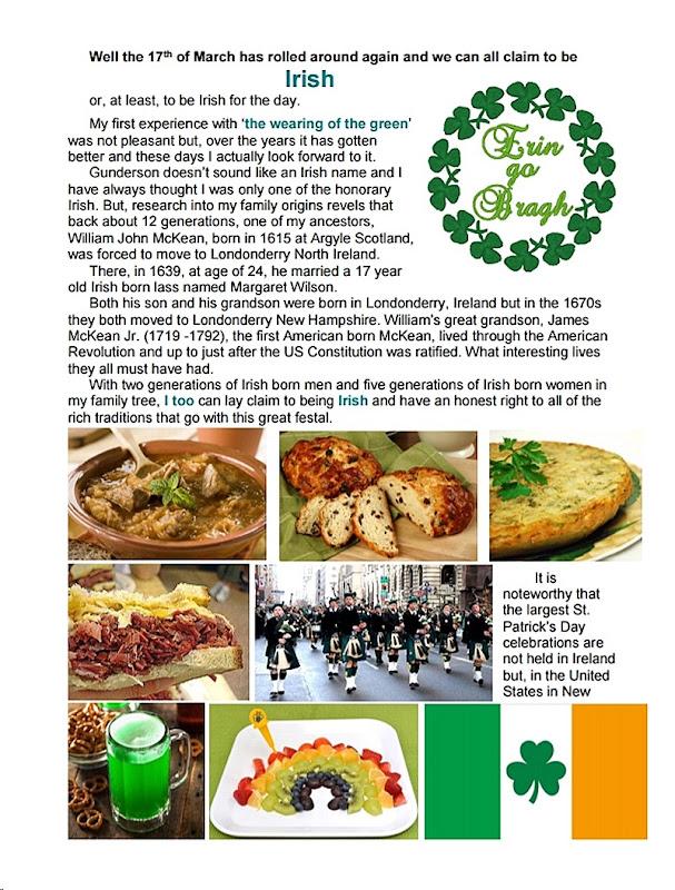 Dave's Irish