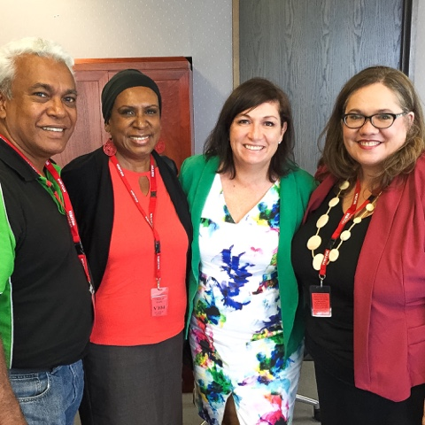 Indigenous Business in South East Queensland with the SEQICC and Minister for Small Business Leeanne Enoch.