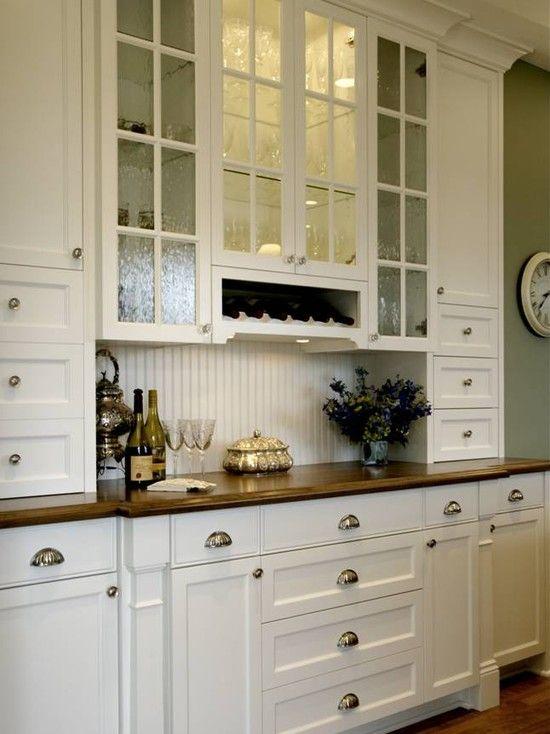 Ideas de armarios de cocina rústicos modernos elegantes