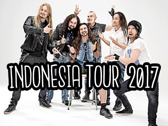 DRAGON FORCE Gelar Konser Di 3 Kota Besar Indonesia Pada 5 - 7 Mei 2017